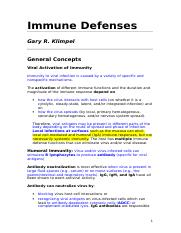 Immune Defenses.doc