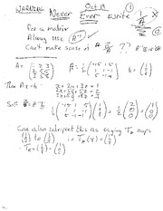 MATRICES CONTINUED