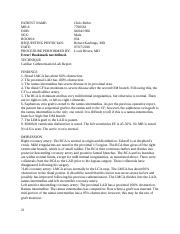 9.4 radiology report