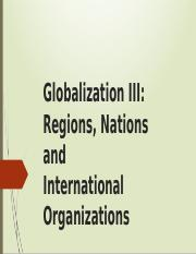 Lecture 3 Nations and international trade organizations STU-2