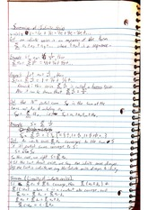 Notes: Summing of Infinite Series