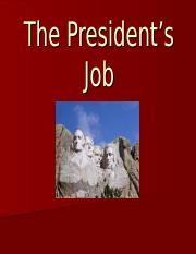 The_Presidents_Major_Roles.ppt