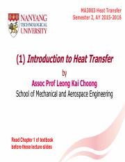 (1) Introduction to Heat Transfer S2 2015-2016.pdf