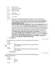 hum 111 quiz 2