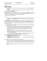 Contracts I - Class Notes