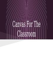 Canvas for Beginners