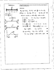 1041_Mechanics Homework Mechanics of Materials Solution