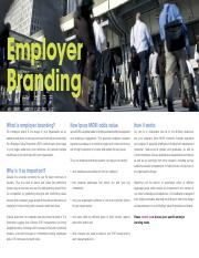 Article - Emplyer Branding