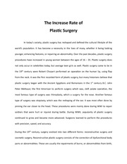 essay on plastic surgery co essay on plastic surgery