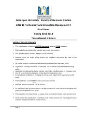 20140509_MTA_B222B_Final_Exam_Questions_Answers_V1.0.doc