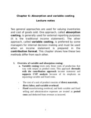 Absorption and variable costing.docx