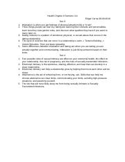 Health Chapter 6 Sections 3-4.docx