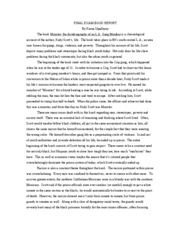 Ethnic studies research paper