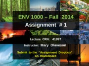 ENVS1000-F2014-Assignment-1-Instructions