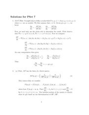 solutions for homework 7