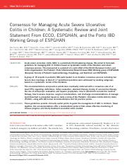 ECCO and ESPGHAN%2c 2011 - Management of acute severe UC.pdf