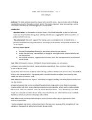C464 Task 1 Template docx - Introduction to Communication C464 Task