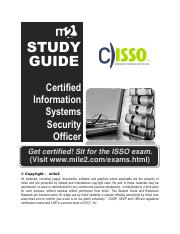 CISSO Study Materials - Practice Questions with Answers.pdf