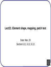 Lect21+Element+shape%2C+mapping%2C+patch+test
