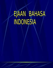 Ejaan Bahasa Indonesia.ppt