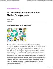 18 Green Business Ideas for Eco-Minded Entrepreneurs.pdf