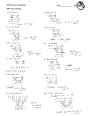 equations with decimals math aids has key round your answers to