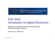 lecture 6 on Introduction to Digital Electronics