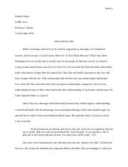 CORE 110 Argumentative Essay on TEWWG Final