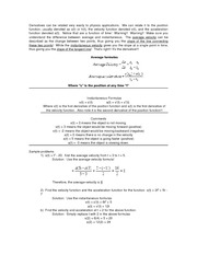 _DERIVATIVES OF VELOCITY AND ACCELERATION