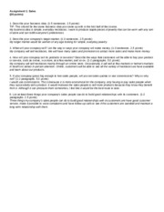 Writing assignments for macroencomonics
