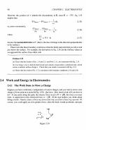 Work and Energy of the electric field