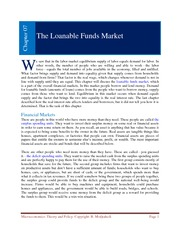Chapter 06 _Loanable Funds Market_