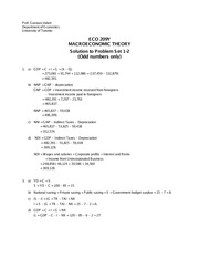 Solution to PS 01-02 (Odd numbers) - ECO209 - W2014