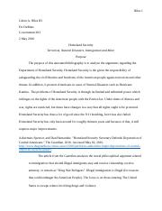 War on Terrorism annotated bibliography