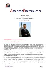 Barack Obama - Senate Floor Speech on the Patriot Act.pdf