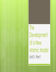 1 - The Development of a New Atomic Model.pdf