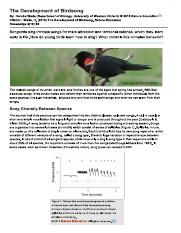 The Development of Birdsong.pdf
