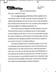 johnny got his gun documents course hero johnny got his gun essay