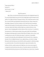 enc letter from birmingham jail patterns edition 5 pages essay racial discrimination