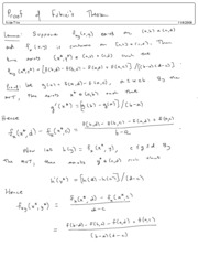 Proof of Fubinis theorem