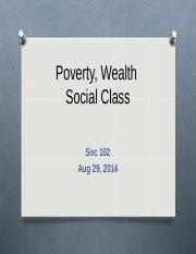 Lecture on Poverty and Wealth.ppt