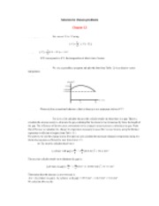 Chapter 12 - Solutions