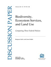 Biodiversity, Ecosystem Services, and Land Use