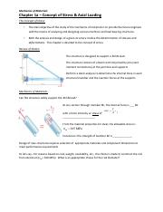 Chapter 1a - notes - Mechanics of Materials.pdf