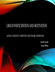 Group participation and Motivation Powerpoint.pptx