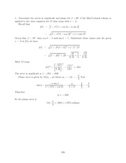 Differential Equations Lecture Work Solutions 329