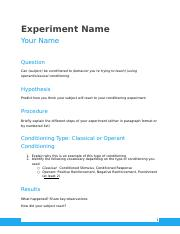 Conditioning Experiment Write-Up Template.docx