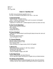 HIST 2111- CH. 13 NOTES