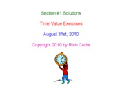 Section _1 Time Value Solutions