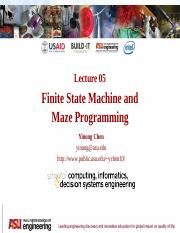 Built-It Workshop L5 - FSM and Maze Programming